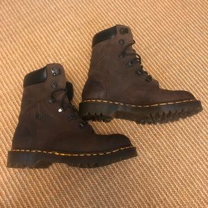 Doc Martin Size 5 Boots.  Leather work England Dr.